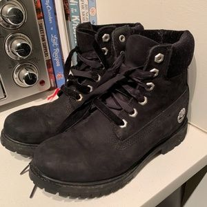 Women's Premium Timberland Velvet Collar Boot